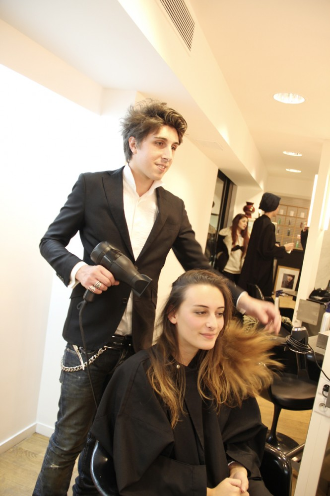 Chloé and you, Coiffeur Massato