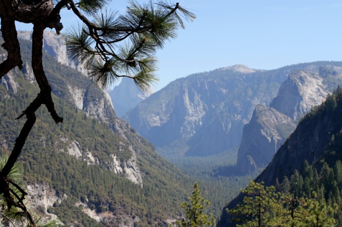 Yosemite road trip californie
