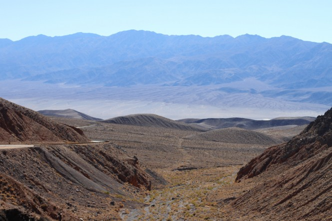 death valley road trip californie